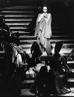 Hildegard Behrens als Salome bei den Salzburger Festspielen 1977. Bild: SF