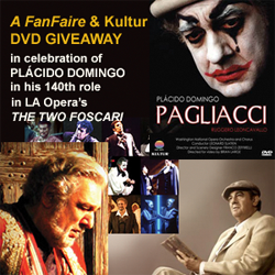 Celebrating Placido Domingo with a DVD Giveaway
