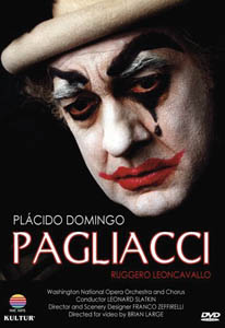 Placido Domingo as Pagliacci