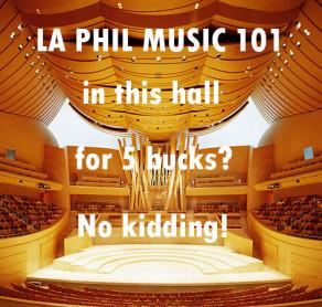 LA PHIL MUSIC 101